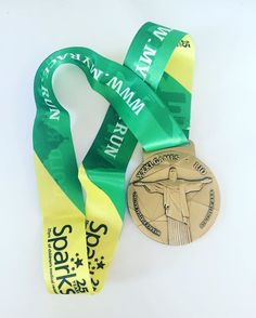 A photo of our Gold Rush medal taken by a Gold Rush Virtual Race finisher. Gold Rush, Racing, Auto Racing