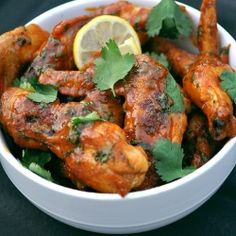 Spicy Sriracha Chicken Wings
