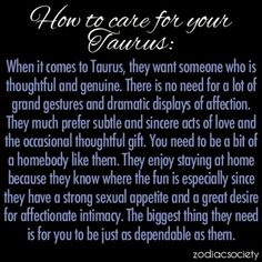 Traits of taurus man in love