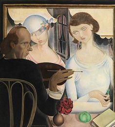 De likeurdrinksters Gustave Van De Woestyne (1881 - 1947)