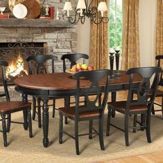 A-America British Isles Oval Dining Table - BRIMB6310
