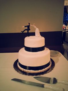 Beautiful cake made by our Dégagés in-house Pastry Chef Lindsay