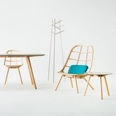 Nadia furniture by Jin Kuramoto made using Japanese shipbuilding techniques