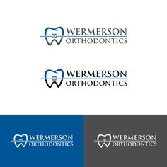 Wermerson Orthodontics is looking for a crisp, clean, professional, and to the point logo! by CART*