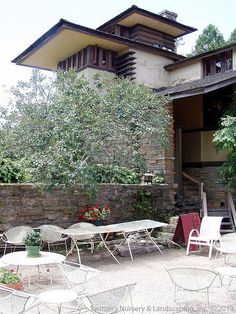 Taliesin ~ Spring Green, Wisconsing ~ Frank Lloyd Wright