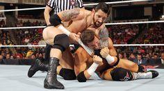 Raw 6/22/15: Zack Ryder vs King Barrett