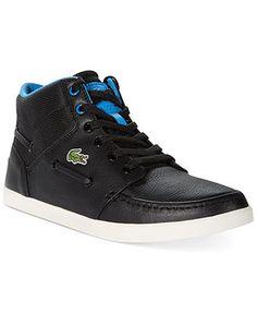 buy online dac0e 8986c Lacoste Crosier Sail Mid SE LEM Hi-Top Sneakers Men - All Men s Shoes -  Macy s