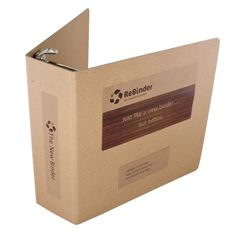 ReBinder Select Chipboard Binder - Case of 4 ReBinders. Binder Folder, Ring Binder, Getting Organized, 3 D, Organization, Chipboard, The Originals, Organisation