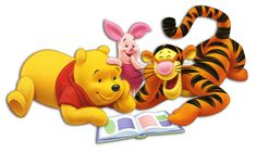 Pooh Piglet and Tigger image