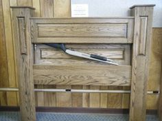 Gun Bed Secret Compartment Headboard – Always Be Ready Gif