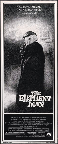 """The Elephant Man"" (1980). DIRECTOR: David Lynch."
