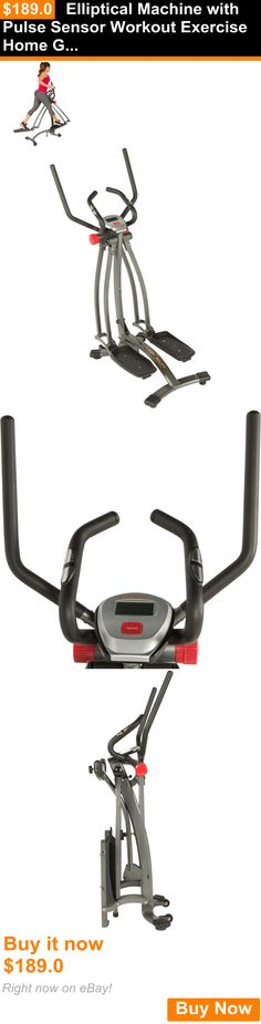Ellipticals 72602: Elliptical Machine With Pulse Sensor Workout Exercise Home Gym Equipment Cardio BUY IT NOW ONLY: $189.0