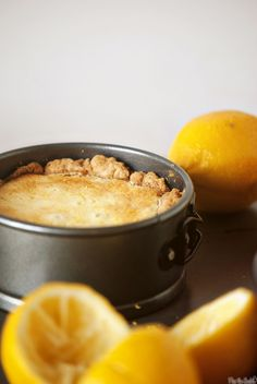 Meyer Lemon Pudding Pie