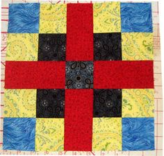 Country Roads Quilt Block Pattern