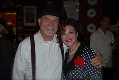 John Miller, MD and Leslie celebrate at Leslie's #ILoveLucy birthday bash! #DEPOT #TheDepot