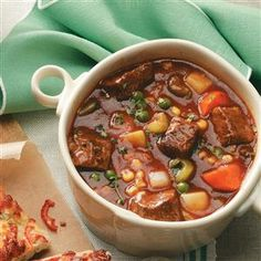 Stephanie's Slow Cooker Stew Recipe from Taste of Home