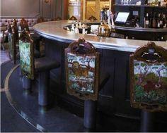 Hotel Monteleone spinning carousel bar.