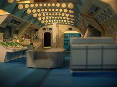 Space ship interior bridge ideas.