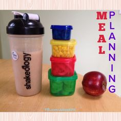 Meal Planning - 21 Day Fix
