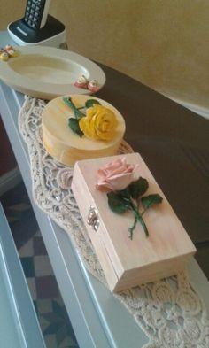Cofanetti con rose