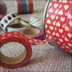 Basteln mit Tape - schöne Kosmetikdosen & Stiftedosen | Honey-loveandlike.de | Lifestyleblog