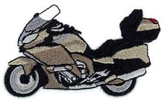Motorcycle G - 4x4   Transportation-other   Machine Embroidery Designs   SWAKembroidery.com Starbird Stock Designs