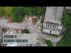 Blackmagic Design Fusion 9 - Planar tracker tutorial - YouTube