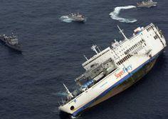 ... e mais de 60 estão desaparecidas depois que uma embarcação com 968 pessoas virou na costa de Zamboanga, na ilha filipina de Mindanao neste domingo (5). Visitar página