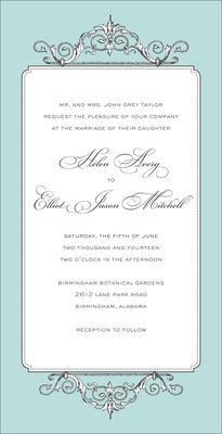 Elegant Affair Invitations