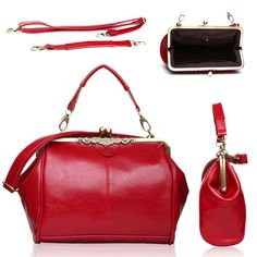 Ladies Faux Leather Bag Lady Bags Celebrity Tote  Smile Celebrity Shoulder Bag