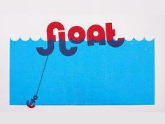 Float Screenprint by Jasper van Grunsven