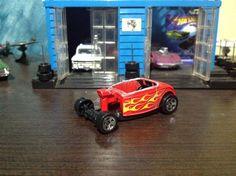 Corte del techo Ford 32 hot wheels