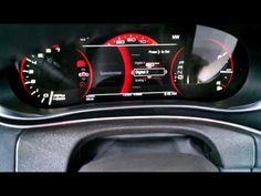 2013 Dodge Dart customizable dash cluster (NAIAS) - YouTube