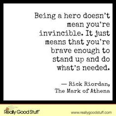 Being a Hero by nell