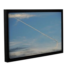 ArtWall Lou Gibbs's 'Stairway To Heaven' Gallery Wrapped Floater-framed Canvas