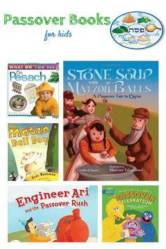 great list of Passover books for kids