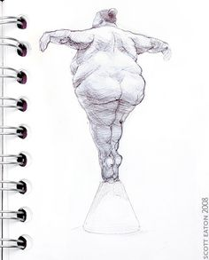 """""""Ballerina"""" by: Scott Eaton Body Sketches, Face Sketch, Character Sketches, Drawing Sketches, Art Drawings, Life Drawing, Figure Drawing, Illustrations, Illustration Art"""