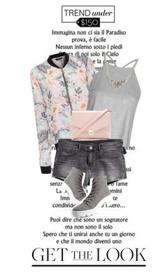 """""""Ready for the weekend $142 outfit"""" by lorihopes ❤ liked on Polyvore featuring Forever 21 and Chicwish"""