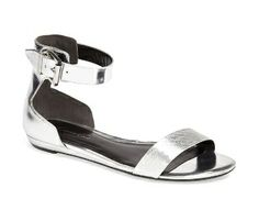 KENNETH COLE Essex Sandals Silver $110