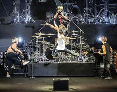 "Japanese band, ONE OK ROCK, opens up China debut at Shanghai's Mercedes-Benz Arena with melodic rock ballads from loved classics and newly released album ""Ambitions"". One Ok Rock, Oclock, Rock Bands, Japanese, Concert, My Love, Classic, Instagram Posts, Mercedes Benz"