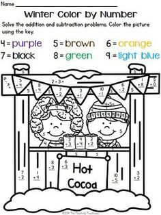 math worksheet : spring color by number  addition  subtraction within 10  color  : Fun Addition And Subtraction Worksheets