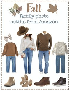 Fall Family Picture Outfits, Family Picture Colors, Family Portrait Outfits, Family Photos What To Wear, Fall Family Portraits, Fall Family Pictures, Fall Outfits, Fall Photos, Picture Ideas