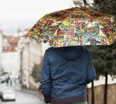 Marvel Comic Umbrella - #Geeky #Marvel #Comics | CoolShitiBuy.com