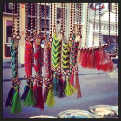 #ketting #koord #zomer #beadies #kralen #sieraden #nieuw #fashion #meiden #festival