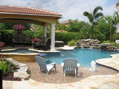 The perfect backyard retreat