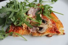 """egg and cream cheese low carb """"pizza"""""""