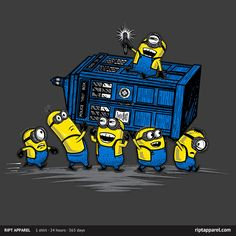 The minions have the police box!