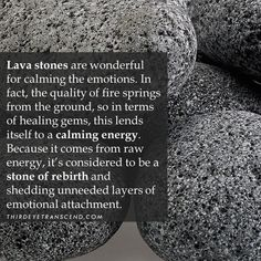 "ThirdEyeTranscend on Instagram: ""Lava stone is known as Stone of rebirth 🙏💎📿 • • • • • #crystals #crystalhealing #chakra #crystal #healingcrystals #quartz #reiki…"" Crystals Minerals, Crystals And Gemstones, Stones And Crystals, Crystal Healing Stones, Crystal Magic, Rock Identification, Pretty Names, Soul Healing, Health Heal"