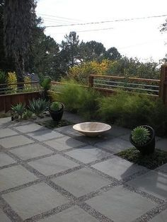 I really like the gravel and patio paver combo but I like low maintenance and this may drive me crazy.