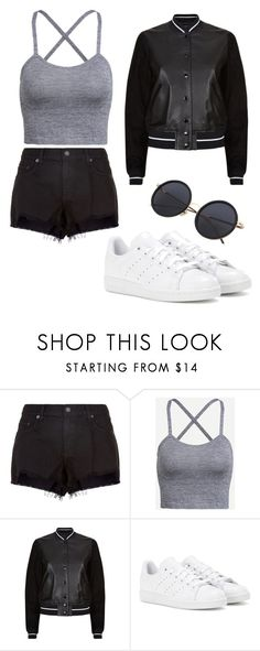 """""""#2"""" by smhsatan ❤ liked on Polyvore featuring rag & bone and adidas"""